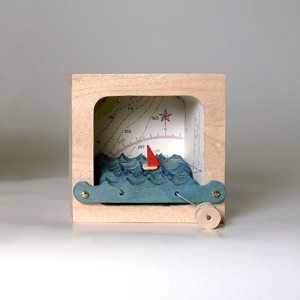 Be Brave, Make Waves! Kinetic Sculpture
