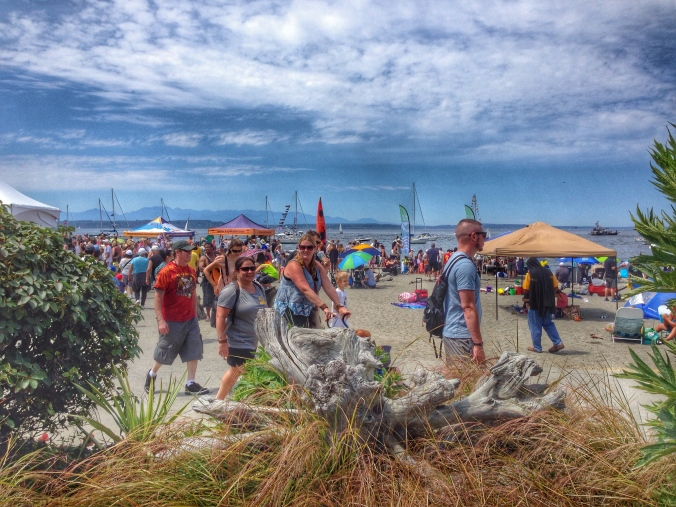 Alki Beach-June 2015-© Terri Nakamura
