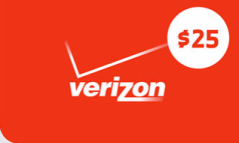4 Verizon Gift Cards