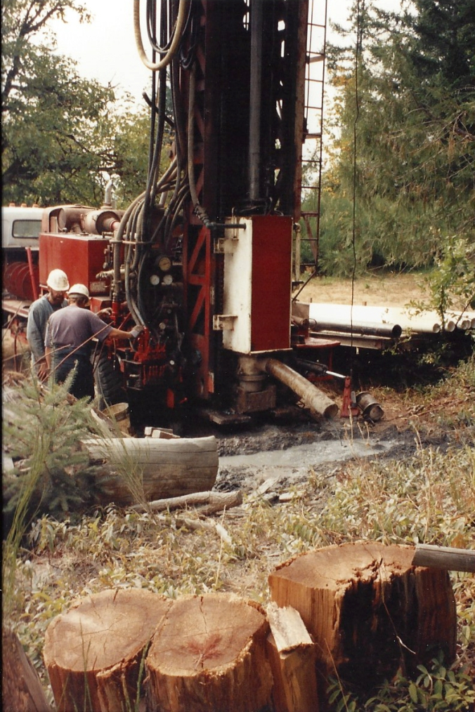 Drilling the well