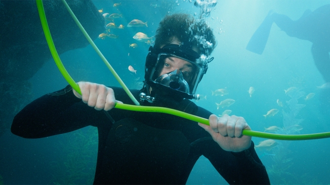 Verizon scuba ad