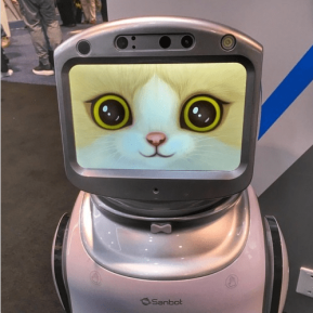 Kitty Robot at CES2018 © terrinakamura