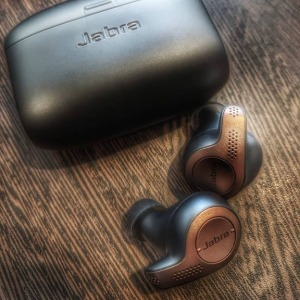 The Jabra Elite 65t True Wireless Headset